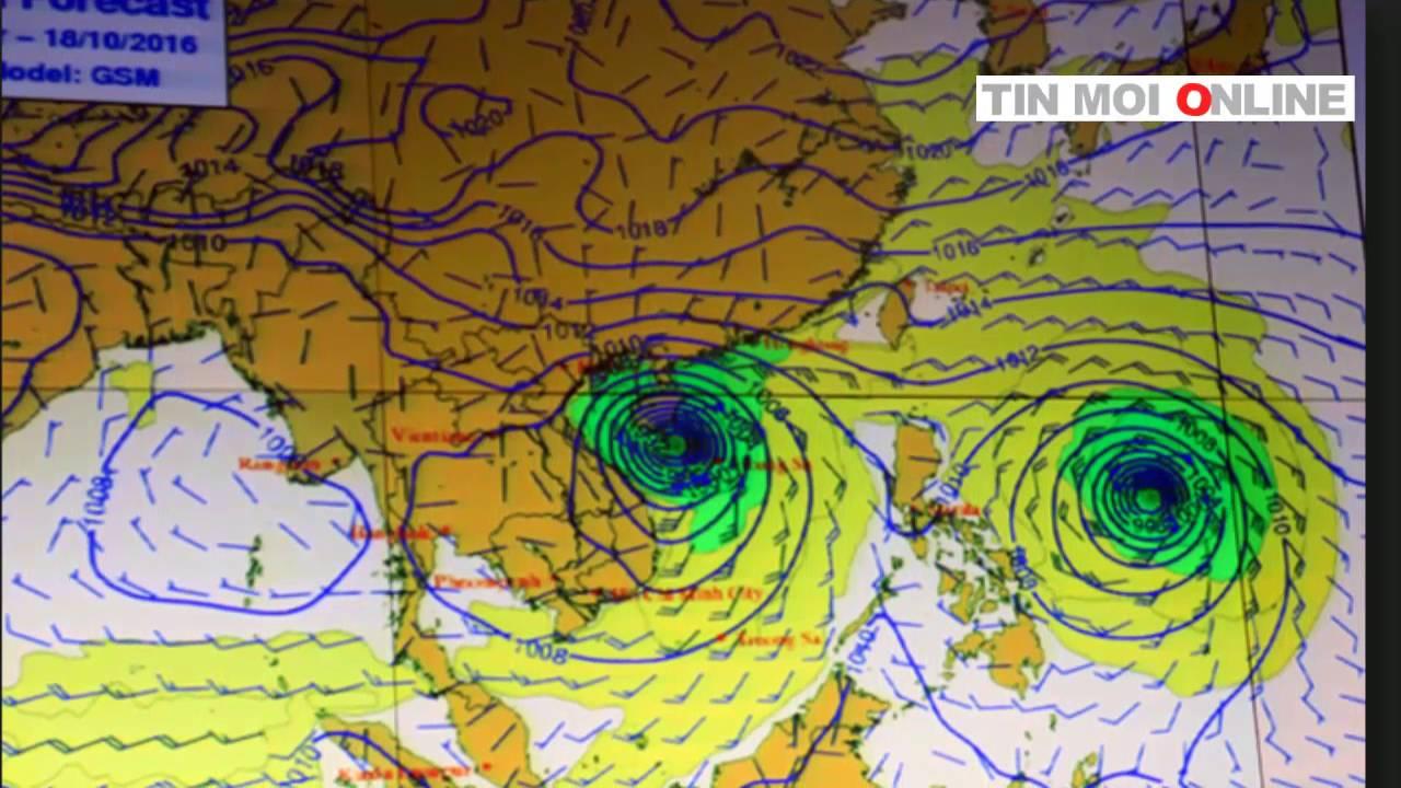 """Siêu bão Hai Ma đang """"đuổi theo"""" bão số 7 tiến vào Biển Đông"""