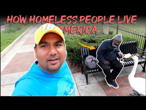 America Homeless Life.