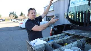 Peek Inside a Work Truck for Auto Glass Repair