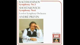 Shostakovich Symphony No. 6-2. Previn, LSO, 1974