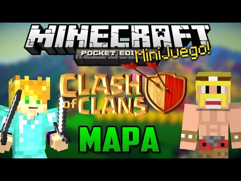Minecraft PE - Clash Of Clans - Mapa