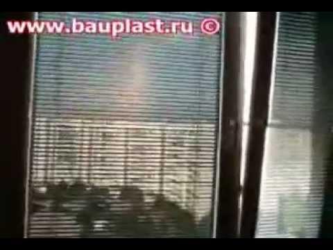 Тканевые ролеты День Ночь на пластиковые окна - YouTube