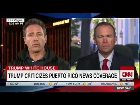 Mulvaney defends Trump's tweets on Puerto Rico