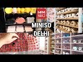 COMPLETE MINISO STORE SHOPPING TOUR | DELHI | Shop with me