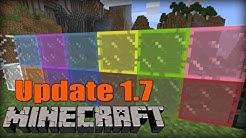 Farbiges Glas! - Minecraft 1.7 Update - Snapshot 13w41a