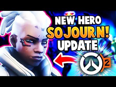 Overwatch 2 New Hero Sojourn Update! - Roadhog Is NERFED!