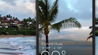 Yahoo Weather on Android: See the weather come to life