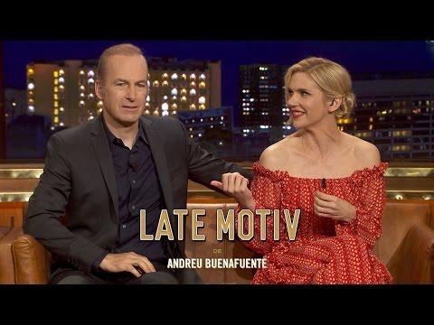 LATE MOTIV - Bob Odenkirk y Rhea Seehorn. Hemos llamado a Saul... y ha venido | #LateMotiv220