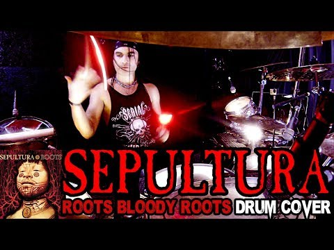 SEPULTURA - ROOTS BLOODY ROOTS - DRUM COVER by FRANKY COSTANZA