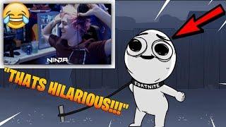 NINJA REACTS TO FORTNITE MEME 😂😂😂 | Best Fortnite Moments