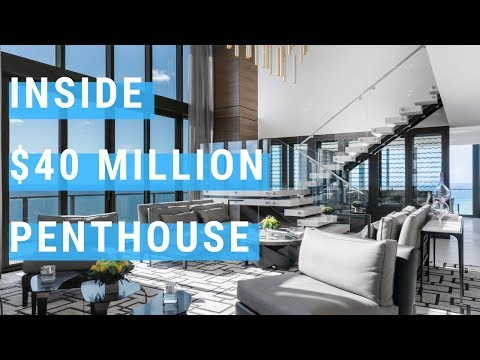 INSIDE A $40 MILLION DOLLAR MIAMI PENTHOUSE - STEP INSIDE!!