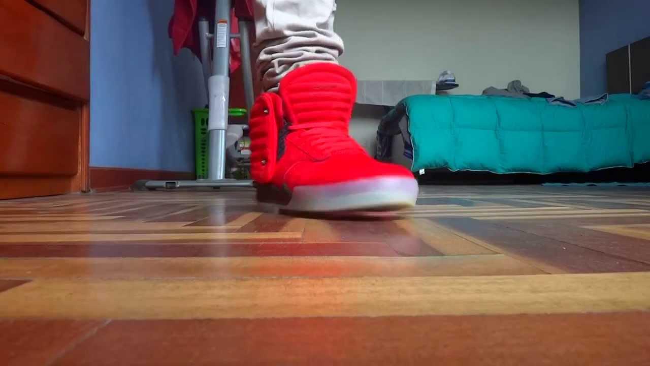 Supra Skytop Red