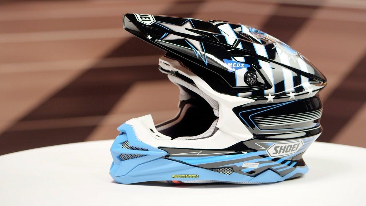 Shoei Vfx Evo Josh Grant 3 Helmet Review Youtube