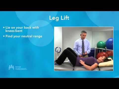 hqdefault - Low Back Pain Exercises Kaiser