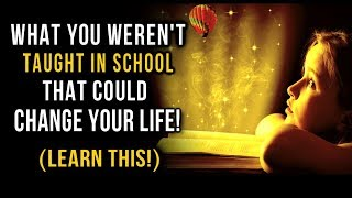 What Schools FAILED To Teach Us! (Powerful Mind Secrets You Must Know) Learn This! Law of Attraction