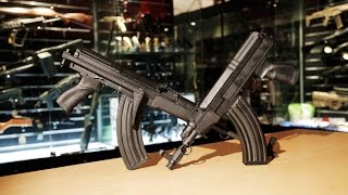 sneak preview looks feels like ak but it s not ares sa vz 58 rifle aeg redwolf airsoft rwtv