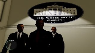 GTA White House President Of United States Barack Obama on NYC Version Mods vs Free YouTube Music