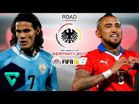 Uruguay vs. Chile | CONMEBOL | Road To World Cup Germany 2017 | FIFA 16