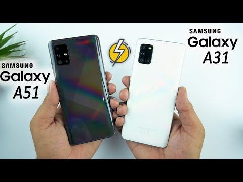 galaxy-a51-vs-galaxy-a31-speed-test-&-comparison