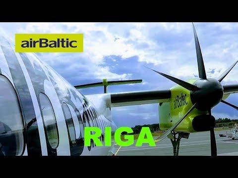 AirBaltic, The HYBRID REGIONAL AIRLINE: Tallinn To Riga On Bombardier Dash 8 Q400 Flight Review