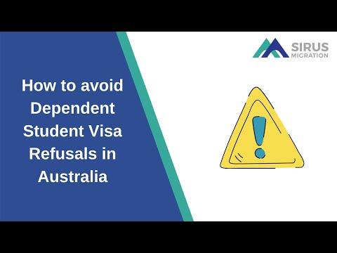 How To Avoid Dependent Student Visa Refusals In Australia
