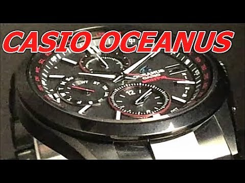 official photos ca052 faf79 CASIO OCEANUS BRIEFINGコラボレーションモデル OCW-T2610BR-1AJR