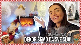SREĐUJEMO STAN + NOVA JELKA   VLOGMAS 01