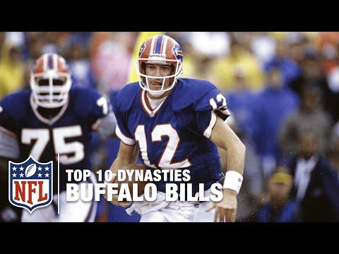 NFL Top 10 Dynasties: '90s Buffalo Bills