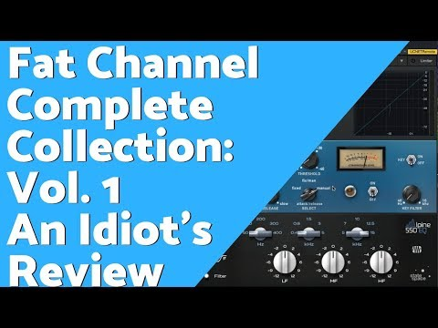 PreSonus Fat Channel Complete Collection Volume 1 – An Idiot's Review