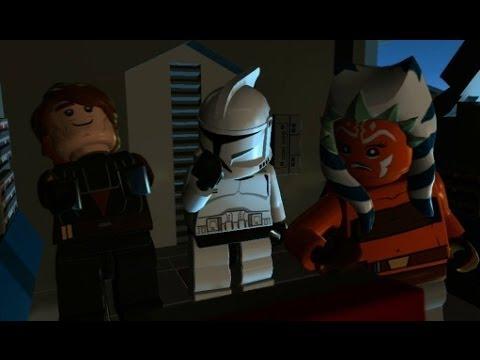 LEGO Star Wars III: The Clone Wars - 100% Guide #4 - Jedi Crash (All Minikits)