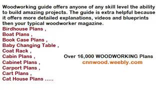 Download 16000 Free Woodworking Plans & Projects at here goo.gl/pFrCtH Instant Access To 16000 Woodworking Designs, DIY ...
