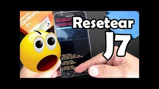 Resetear Samsung Galaxy J7 Hard Reset o Factory Reset Telefono Samsung Galaxy