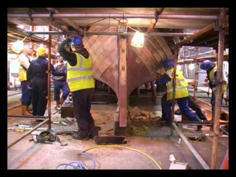 Ferguson's Shipyard Comet May 2010 Footage 2