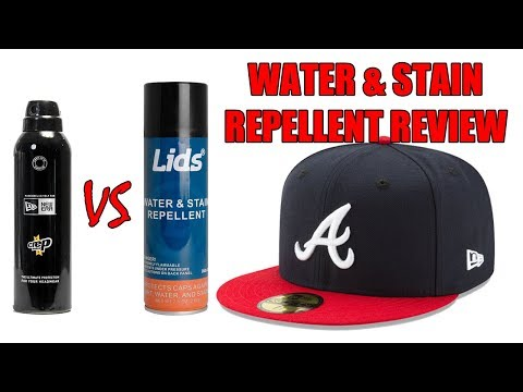 NEW ERA CREP PROTECT VS LIDS WATER & STAIN REPELLENT REVIEW !!! WHICH ONE IS BETTER ???