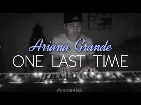 Ariana Grande - One Last Time (Piano Cover | Rob Tando)