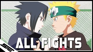 All Naruto vs Sasuke Fights - Naruto Ultimate Ninja Storm 1-4