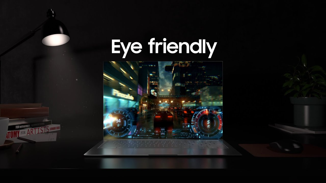 Samsung OLED for laptops: Eye Friendly