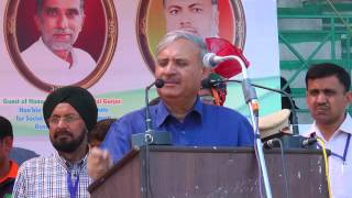 Rao Inderjit Singh, President PCI - Welcome Speech - 26.03.2016 16th Sr. Nationals Para Athletics