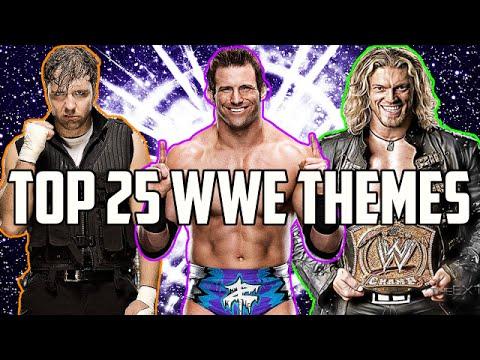 Top 25: WWE Theme Songs!
