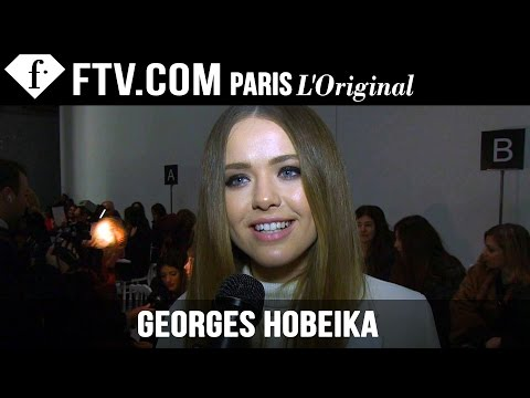 Georges Hobeika Front Row | Paris Couture Fashion Week | FashionTV