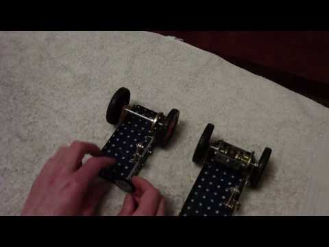 Meccano car differential explained