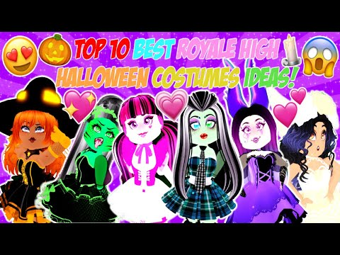 Top 10 Best Halloween Costumes Ideas In Royale High I Roblox Royale High Youtube