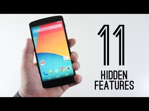 Android 4.4 KitKat Hidden Features!