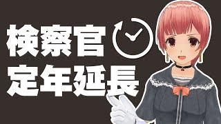 【国会】検察官定年延長!?二転三転の政府答弁【東京高検検事長】