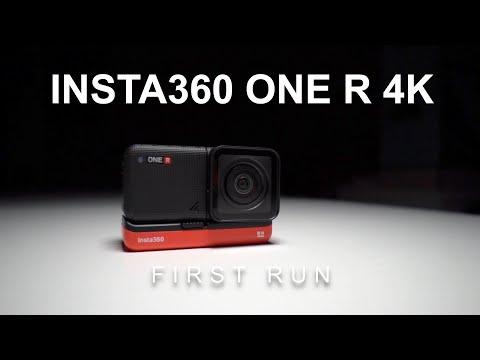 Insta360 One R 4K - First Run