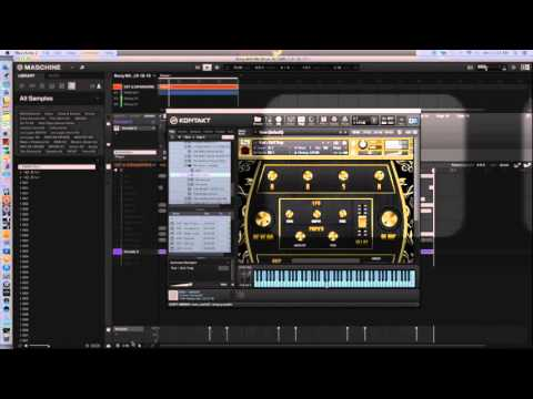 how to add library to kontakt 5