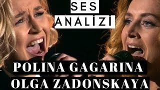 Polina Gagarina | Olga Zadonskaya Ses Analizi (Rusya'dan İki Büyük Ses)