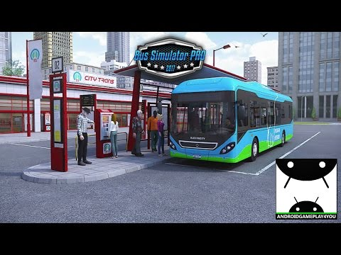 Bus Simulator PRO 2017 Android GamePlay Trailer [1080p/60FPS] (By Mageeks Apps & Games)