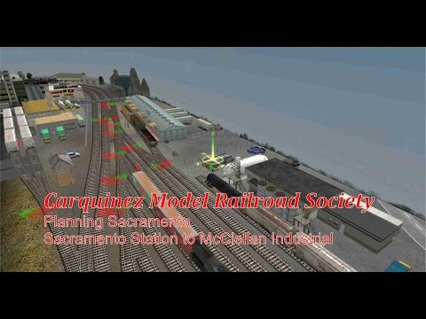 CMRS on Trainz Model Railroad: Planning Sacramento #4