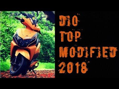 honda dio top modified 2018